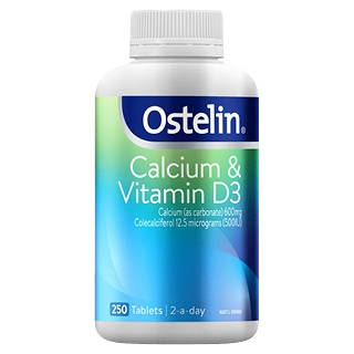 Image for Ostelin Calcium & Vitamin D3 - 250 Tablets from DDS