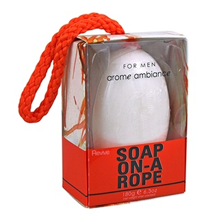 Image for Arome Ambiance Mens Soap On A Rope Revive - 180g from DDS
