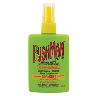 Image for Bushman Plus UV Insect Repellent Pump Spray - 100ml from DDS