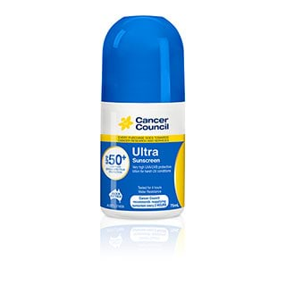Image for Cancer Council Ultra SPF 50+ Sunscreen Roll On - 75mL from DDS