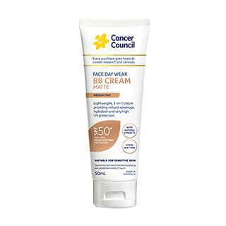 Image for Cancer Council Face Day Wear BB Cream SPF50 Medium Tint - 50mL from DDS