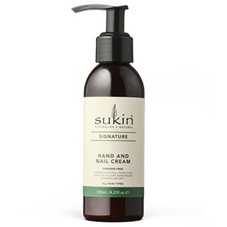 Image for Sukin Hand & Nail Cream Pump - 125mL from DDS