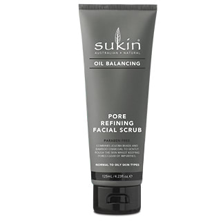 Image for Sukin Oil Balancing Plus Charcoal Pore Refining Facial Scrub - 125mL from DDS
