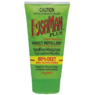 Image for Bushman PLUS Repellent with Sunscreen Gel - 75g from DDS