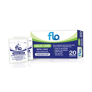 Image for Flo Sinus Care Refill - 20 Sachets from DDS