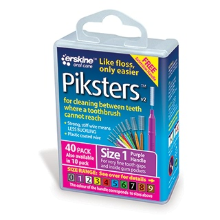 Image for Piksters Interdental Brushes Size 1 - 40 Pack from DDS