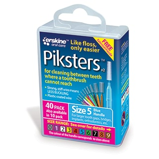Image for Piksters Interdental Brushes Size 5 - 40 Pack from DDS