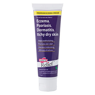 Image for Hope's Relief Premium Eczema Cream - 60g from DDS