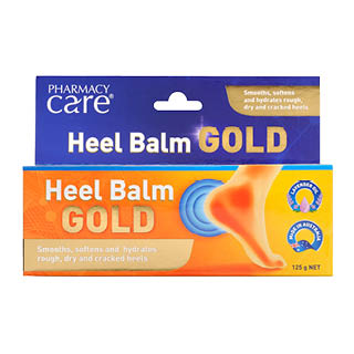 Image for Pharmacy Care Heel Balm Gold - 125g from DDS