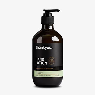 Image for Thankyou Hand Lotion Botanical Lime & Coriander - 500mL from DDS