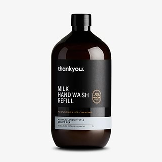 Image for Thankyou Hand Wash Refill Botanical Lemon Myrtle & Goat's Milk - 1L from DDS