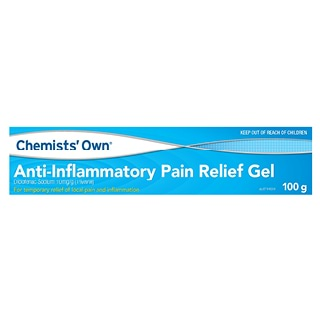 Image for Chemists Own Diclofenac Anti-Inflammatory Gel - 100g from DDS