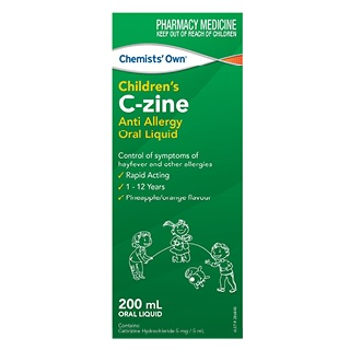 Image for Chemists Own Kids C-Zine Liquid - 200ml from DDS