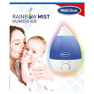 Image for Medescan Rainbow Mist Humidifier from DDS