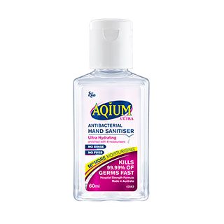 Image for Aqium Hand Sanitiser Ultra - 60mL from DDS