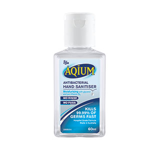 Image for Aqium Hand Sanitiser - 60mL from DDS