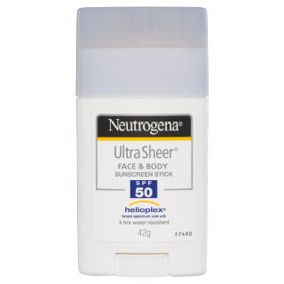Image for Neutrogena Ultra Sheer Face & Body Sunscreen Stick SPF 50 42g from DDS